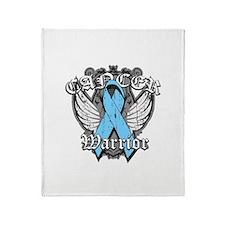 Prostate Cancer Warrior Throw Blanket