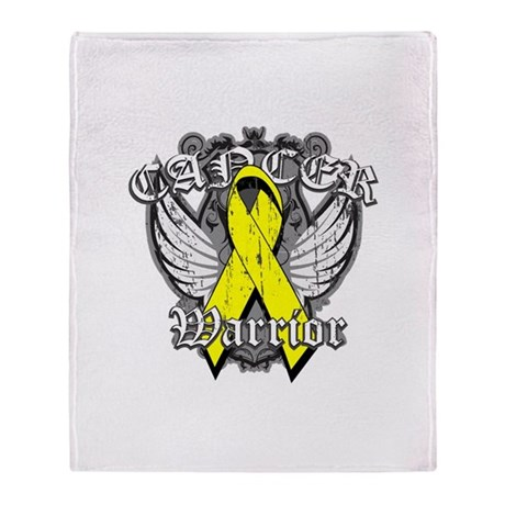 Sarcoma Cancer Warrior Stadium Blanket