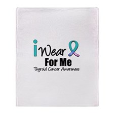 Thyroid Cancer (Me) Throw Blanket