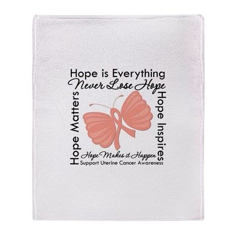 Hope - Uterine Cancer Stadium Blanket
