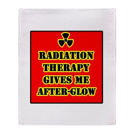 Radiation Therapy Stadium Blanket