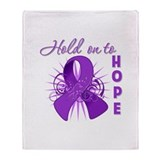 Leiomyosarcoma Throw Blanket