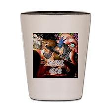 Mardi Gras 2 Shot Glass