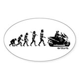 SUZUKI BURGMAN EVOLUTION Decal