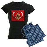 Sweetheart Dachshund Dog pajamas