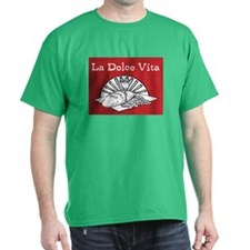 La Dolce Vita - Food and Wine T-Shirt