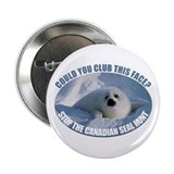 Canadian Seal Hunt 2.25&quot; Button (10 pack)
