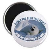 "Canadian Seal Hunt 2.25"" Magnet (10 pack)"