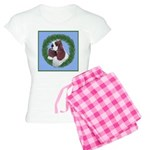 Christmas Cocker Spaniel Women's Light Pajamas
