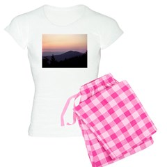 Mountain Sunset 2 Women's Light Pajamas
