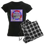 Agility Clumber Spaniel Women's Dark Pajamas