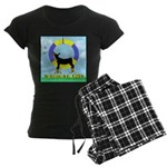 Agility Doberman Pinscher Women's Dark Pajamas