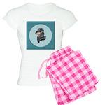 Longhaired Dachshund Women's Light Pajamas