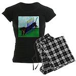 An Agility Dachshund? Women's Dark Pajamas