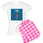 Dachshund Vamp Women's Light Pajamas