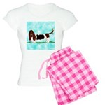 Basset Hound Women's Light Pajamas