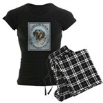 Catahoula Leopard Dog Women's Dark Pajamas