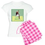 Puppy Boxer in Ear Tapes Women's Light Pajamas