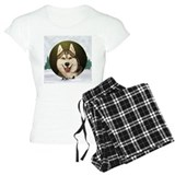Siberian Husky & dog team pajamas