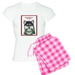 Malamute and sled team Women's Light Pajamas