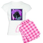 Giant Schnauzer Design Women's Light Pajamas