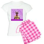 Red Doberman Bitch Women's Light Pajamas