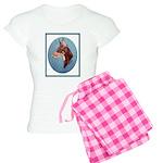 Red Doberman Pinscher Women's Light Pajamas