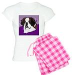 St. Bernard head study Women's Light Pajamas
