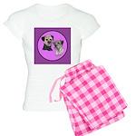 Border Terriers Women's Light Pajamas