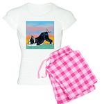 Boston Bull Terrier Women's Light Pajamas