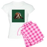 Brindle English Bulldog Women's Light Pajamas