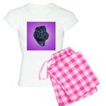 Black Shar Pei Women's Light Pajamas