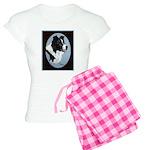 Border Collie Profile Women's Light Pajamas