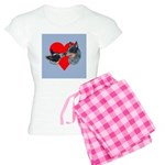 Australian Cattle Dog Kiss Women's Light Pajamas