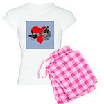 Australian Cattle Dog Kiss Women's Light Pajamas