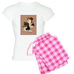 Australian Shepherd Pair Women's Light Pajamas