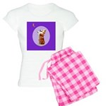 Begging Corgi Women's Light Pajamas