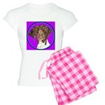 German Shorthair Pointer Head Women's Light Pajama