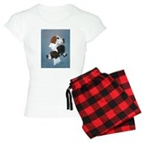 English Pointer Trio pajamas