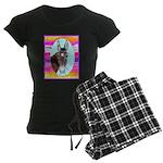 Horses and Mules Women's Dark Pajamas