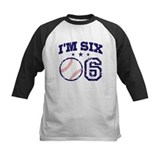 Six Year Old Baseball Tee