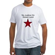 No Justice On Stolen Land Shirt