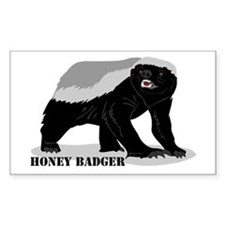 Honey Badger! Decal