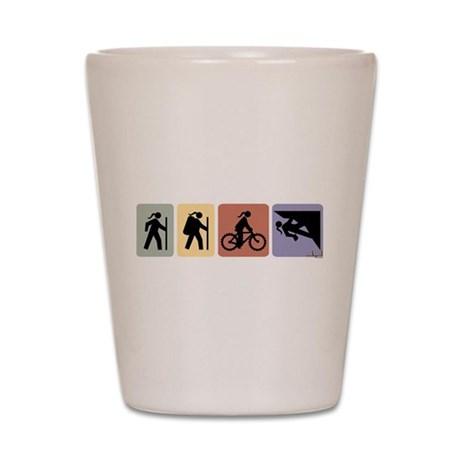 Multi Sport Gal Shot Glass