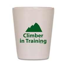 Climber in Training Shot Glass