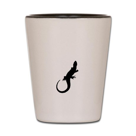 Black Lizard Shot Glass