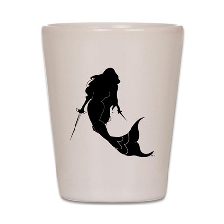 The Rogue Mermaid Shot Glass