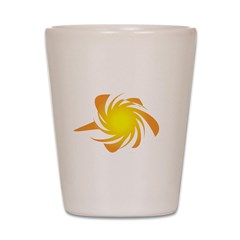 Funky Sun Shot Glass