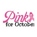 Pink For October 38.5 x 24.5 Wall Peel