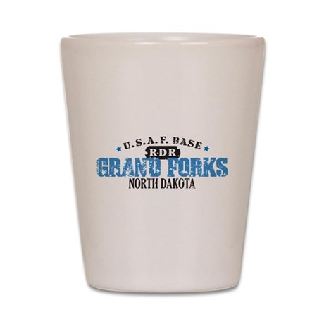 Grand Forks Air Force Base Shot Glass